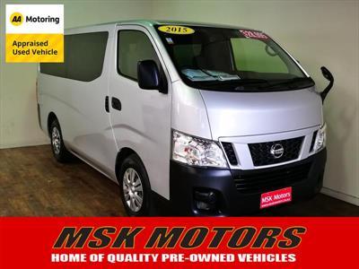 f757637b9f46df 2015 Nissan Caravan NV 350 DIESEL 9 SEATER This vehicle is trending right  now